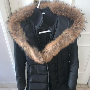 NEW Mackage black Kay-F Down Coat ORIGINALLY $950